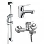 [product_id], Набор смесителей Rossinka SET35-83, , 6 290 руб., SET35-83, Rossinka, Комплекты смесителей для ванной комнаты