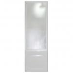 [product_id], Душевая шторка боковая на ванну 1-MarKа 70140 70х140 (белая, хром), 3256, 4 620 руб., хром, белая 70x140, 1-MarKa, Шторки для ванн