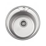 [product_id], Мойка кухонная LEDEME L64949 Ø490x180мм, , 1 970 руб., L64949 Ø490x180мм, Ledeme, Кухонные мойки