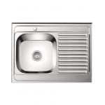 [product_id], Мойка кухонная LEDEME L68060-L 800x600x180мм, , 3 550 руб., L68060-L 800x600x180мм, Ledeme, Кухонные мойки