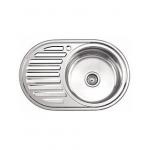 [product_id], Мойка кухонная LEDEME L67750-R 770x500x180мм, , 2 750 руб., L67750-R 770x500x180мм, Ledeme, Кухонные мойки