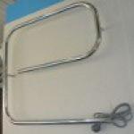 [product_id], Полотенцесушитель электрический Стилье G-образный 600х600 (60 Вт) левый, 4675, 3 940 руб., Стилье G-образный 600х600, Стилье, Электрические