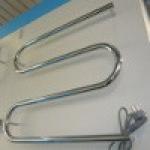 [product_id], Полотенцесушитель электрический Стилье M-образный 600х600 (63,8 Вт), 4678, 3 800 руб., Стилье M-образный 600х600, Стилье, Электрические