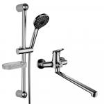 """[product_id], Комплект смесителей Lemark Set LM7303C для ванной 2 в 1, , 6 770 руб., Lemark Set LM7303C для ванной """"2 в 1"""", Lemark, Комплекты смесителей для ванной комнаты"""