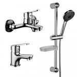"""[product_id], Комплект смесителей Lemark Set LM7301C для ванной 3 в 1, , 6 970 руб., Set LM7301C для ванной """"3 в 1"""", Lemark, Комплекты смесителей для ванной комнаты"""