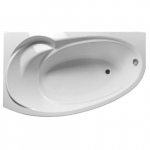 [product_id], Акриловая ванна 1Marka Julianna 170x100 см левая без гидромассажа, , 16 050 руб., Julianna, 1-MarKa, Ванны