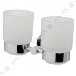 [product_id], Двойной стеклянный стакан Am - Pm Bliss A55343400 (хром), 8644, 4 140 руб., Am - Pm Bliss, Am - Pm, Стакан