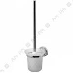 [product_id], Стойка с туалетной щеткой Am - Pm Bourgeois A6533300 (хром), 8664, 1 930 руб., Am - Pm Bourgeois, Am - Pm, Ёршик для унитаза