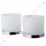 [product_id], Двойной стеклянный стакан Am - Pm Serenity A40343400 (хром), 8716, 4 140 руб., Am - Pm Serenity, Am - Pm, Стакан