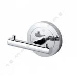 [product_id], Двойной крючок для полотенец Am - Pm Serenity A4035600 (хром), 8711, 2 110 руб., Am - Pm Serenity, Am - Pm, Крючок для ванной