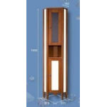 [product_id], Пенал угловой Аквалеон Коралл, 4351, 20 040 руб., Аквалеон, Аквалеон, Угловая мебель