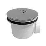 [product_id], Сифон для душевого поддона AlcaPlast A49K Lux (хром), , 990 руб., AlcaPlast A49K Lux, AlcaPlast, Системы слива для ванной