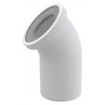 [product_id], Фановый отвод для унитаза AlcaPlast A90-45 45°, , 590 руб., AlcaPlast A90-45 45°, AlcaPlast, Сантехническая арматура