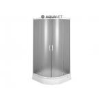 [product_id], Душевой уголок Aquanet AQ7 90x90 (узорчатое стекло), 8151, 15 670 руб., Aquanet AQ7 90x90, Акванет, Душевые уголки