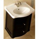 [product_id], Тумба с раковиной подвесная Bagno Design Retro Nouveau BDF-RET-52215-A-BK 55 см., , 144 260 руб., BDF-RET-52215-A-BK, Bagno Design, Мебель для ванной комнаты