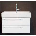 [product_id], Тумба с раковиной подвесная Bagno Design Smooth BDF-SMO-52215-A-WH 80 см., , 116 730 руб., BDF-SMO-52215-A-WH, Bagno Design, Мебель для ванной комнаты