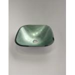 [product_id], Раковина Bagno Design Capri BDS-CAP-104412-A-SV (стекло), , 37 890 руб., BDS-CAP-104412-A-SV, Bagno Design, Раковины