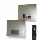 [product_id], Зеркало с 19 TV Bagno Design Chicago BDV-CHI-199080-A-BO, , 133 800 руб., BDV-CHI-199080-A-BO, Bagno Design, Мебель для ванной комнаты