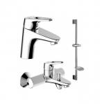 [product_id], Комплект смесителей для ванной комнаты Bravat Drop-D F00312, , 14 050 руб., Bravat Drop-D F00312, Bravat, Комплекты смесителей для ванной комнаты