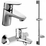 [product_id], Комплект смесителей для ванной комнаты Bravat Drop F00308, , 14 050 руб., Bravat Drop F00308, Bravat, Комплекты смесителей для ванной комнаты