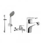 [product_id], Комплект смесителей для ванной комнаты Bravat Eco-DK F00314C, , 13 480 руб., Bravat Eco F00314C, Bravat, Комплекты смесителей для ванной комнаты