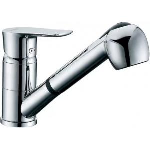 Смеситель D&K Lessing Rhein DA1322501 для кухонной мойки, с вытяжным душем