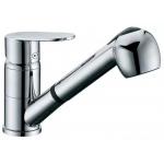 [product_id], Смеситель D&K Speyer Rhein DA1312501 для кухонной мойки, с вытяжным душем, DA1312501, 4 800 руб., Speyer Rhein, D&K, Для душа
