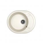 [product_id], Кухонная мойка Dr.Gans Берта 580 25.040.B0580.401 белый (580х470 мм), , 3 620 руб., 25.040.B0580.401, Dr.Gans, Кухонные мойки