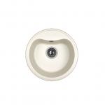 [product_id], Кухонная мойка Dr.Gans Дора 25.015.B0435.401 белый (435х435 мм), , 3 290 руб., 25.015.B0435.401, Dr.Gans, Кухонные мойки
