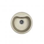 [product_id], Кухонная мойка Dr.Gans Дора 25.015.B0435.408 серый (435х435 мм), , 3 470 руб., 25.015.B0435.408, Dr.Gans, Кухонные мойки