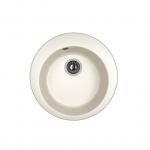 [product_id], Кухонная мойка Dr.Gans Гала 25.010.B0510.401 белый (510х510 мм), , 3 000 руб., 25.010.B0510.401, Dr.Gans, Кухонные мойки