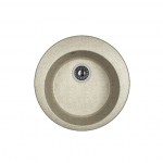 [product_id], Кухонная мойка Dr.Gans Гала 25.010.B0510.408 серый (510х510 мм), , 3 550 руб., 25.010.B0510.408, Dr.Gans, Кухонные мойки