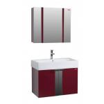 Комплект мебели Edelform Фреш 80 ( бриллиантово - красный )