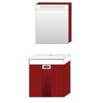 Комплект мебели Edelform Поинт 60 ( бриллиантово - красный )