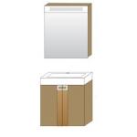 Комплект мебели Edelform Поинт 60 (капучино)
