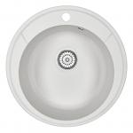 [product_id], Кухонная мойка Granula Standard Оберон ST-4802 Белый (480 мм), , 3 050 руб., ST-4802 Белый, Granula, Кухонные мойки