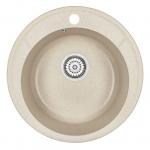 [product_id], Кухонная мойка Granula Standard Оберон ST-4802 Бежевый (480 мм), , 3 050 руб., ST-4802 Бежевый, Granula, Кухонные мойки