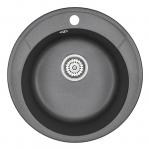 [product_id], Кухонная мойка Granula Standard Оберон ST-4802 Черный (480 мм), , 3 050 руб., ST-4802 Черный, Granula, Кухонные мойки