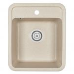 [product_id], Кухонная мойка Granula Standard Рэндом ST-4202 Бежевый (420х500 мм), , 3 390 руб., ST-4202 Бежевый, Granula, Кухонные мойки