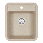 [product_id], Кухонная мойка Granula Standard Рэндом ST-4202 Классик (420х500 мм), , 3 390 руб., ST-4202 Брют, Granula, Кухонные мойки