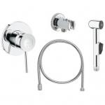 [product_id], Комплект для гигиенического душа Grohe BauClassic 124434 (скрытое подключение), , 7 370 руб., Grohe BauClassic 124434, Grohe, Комплекты смесителей для ванной комнаты