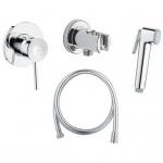 [product_id], Комплект для гигиенического душа Grohe BauClassic 124901 (скрытое подключение), , 7 700 руб., Grohe BauClassic, Grohe, Комплекты смесителей для ванной комнаты