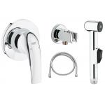 [product_id], Комплект для гигиенического душа Grohe BauCurve 123072 (скрытое подключение), , 7 900 руб., Grohe BauCurve 123072, Grohe, Комплекты смесителей для ванной комнаты