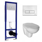 [product_id], Комплект инсталляции Ideal Standard W770001 (инсталляция Ideal Standard W3710AA и унитаз Ideal Standard Ecco E876901 (дюропластовое сиденье)), , 14 040 руб., Ideal Standard W77000, Ideal Standard, Комплекты (инсталляция+унитаз)