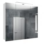 [product_id], Зеркальный шкаф TomsDesign Greta (400.GR.1001) 80 см, , 6 300 руб., Greta (400.GR.1001) 80 см, TomsDesign, Комплекты