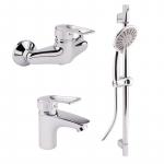 [product_id], Комплект смесителей Potato P9003, , 3 990 руб., P9003, Potato, Комплекты смесителей для ванной комнаты
