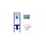 [product_id], Комплект инсталляция Cersanit Carina Clean On S-SET-CARC/LPRO/S-DL/Cm-w, , 10 699 руб., Carina Clean On S-SET-CARC/LPRO/S-DL/Cm-w, Cersanit, Комплекты (инсталляция+унитаз)