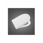 [product_id], Крышка-сиденье для унитаза Roca Inspira Round Compact 80152C00B (780152C00B) (supralit, микролифт), , 4 258 руб., Roca, Roca, Крышки для унитазов