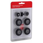 [product_id], Монтажный набор Royal Thermo 1/2 черный, RT02-1, 320 руб., Присоединительный набор, Royal Thermo, Комплектующие для радиаторов
