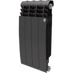 [product_id], Радиатор Royal Thermo BiLiner Noir Sable 500 4 секции, черный, biliner-500-4-sektsii-chernyy, 2 844 руб., BiLiner Noir Sable, Royal Thermo, Отопление и водоснабжение